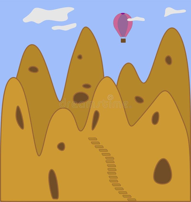 Cappadocia lizenzfreie abbildung