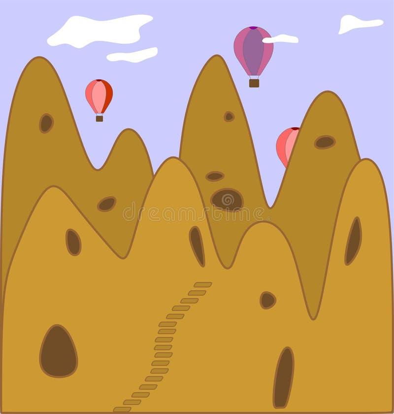 Cappadocia vektor abbildung