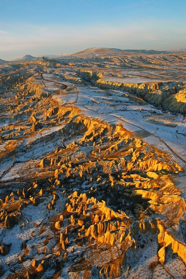 Download Cappadocia fotografering för bildbyråer. Bild av landskap - 523007