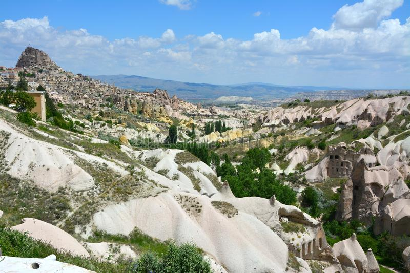 Cappadocia, Anatolia, Turcja Pi?kna ska?a obrazy royalty free