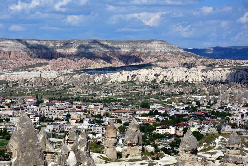 Cappadocia, Anatolia, Turqu?a Museo del aire abierto, parque nacional de Goreme fotos de archivo