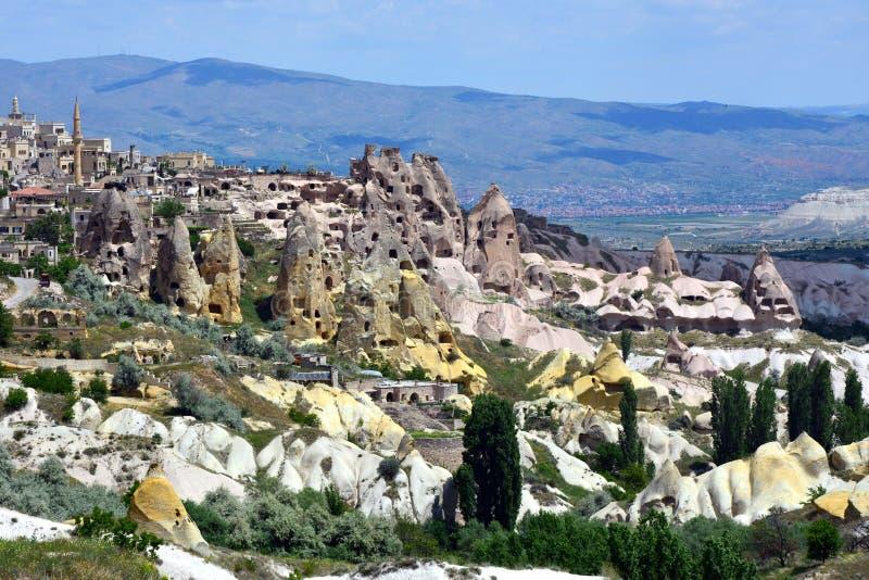 Cappadocia, Anatolia, Turqu?a Museo del aire abierto, parque nacional de Goreme imagen de archivo libre de regalías
