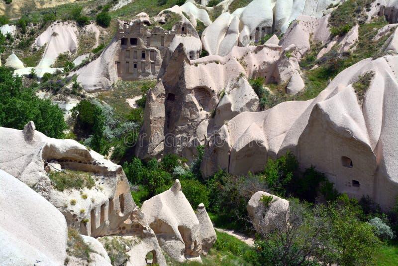 Cappadocia, Anatolia, Turqu?a Museo del aire abierto, parque nacional de Goreme fotografía de archivo libre de regalías