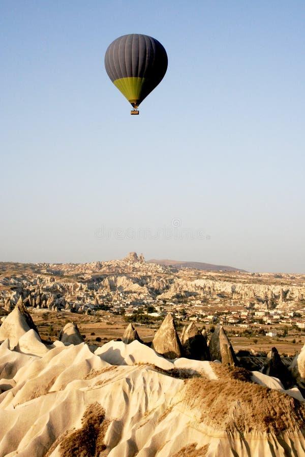 CAPPADOCIA FROM BALLOON 2 stock photography