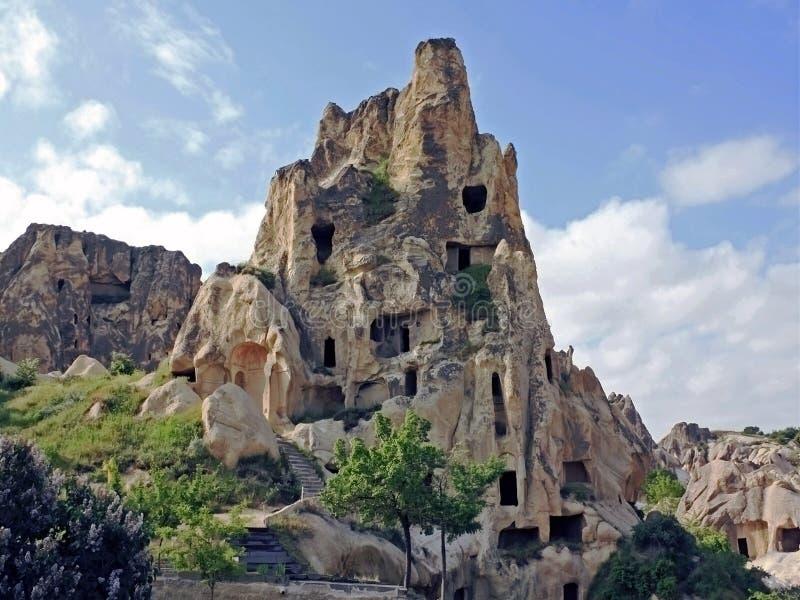 cappadocia budynki mieszkalne obrazy royalty free