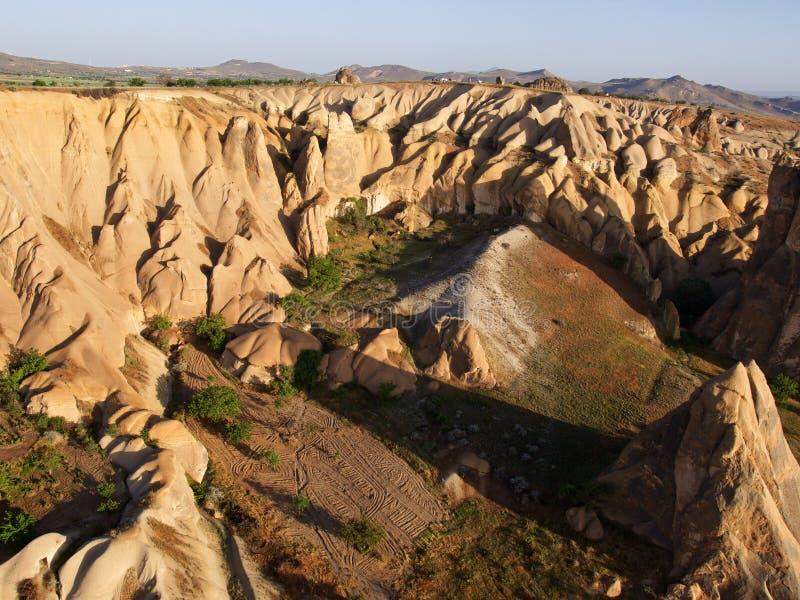 Cappadocia de Goreme del globo foto de archivo