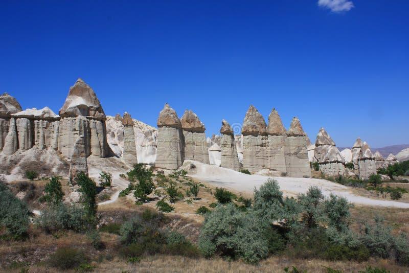 Cappadocia in der Türkei stockfoto