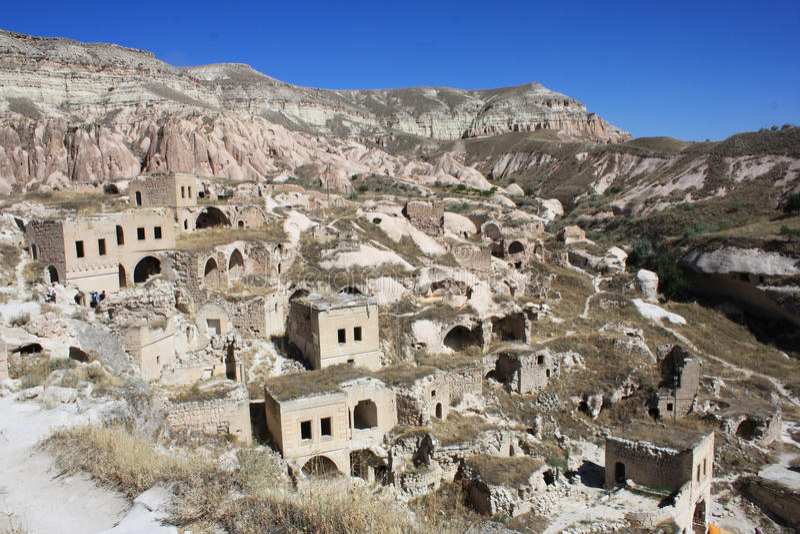 Cappadocia in der Türkei stockbild