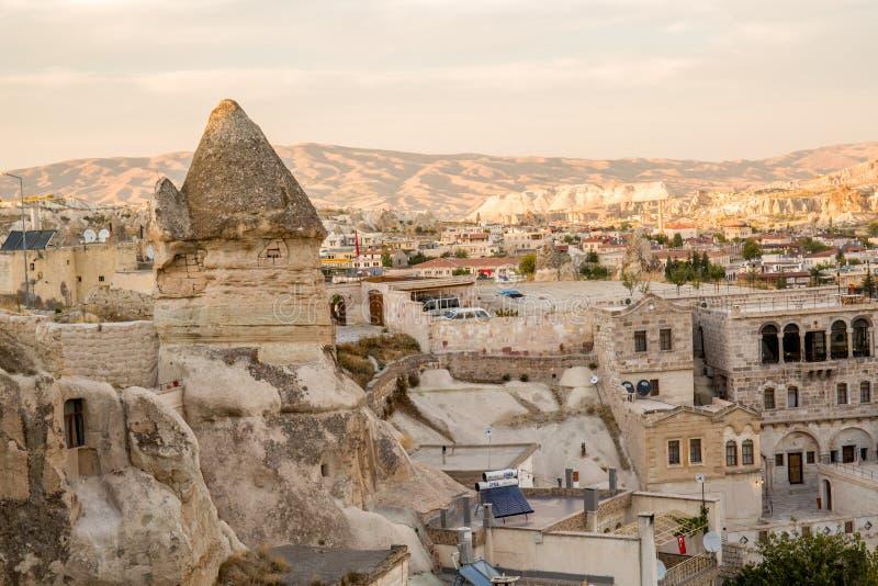 Cappadocia in der Türkei stockfotografie