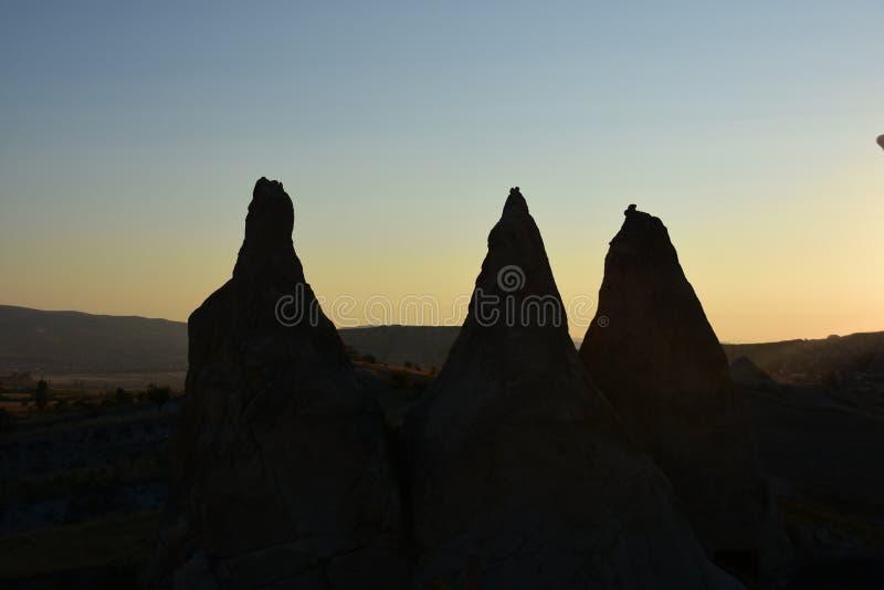 Cappadocia die Türkei stockfoto