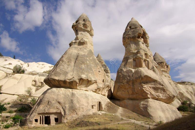 Cappadocia, die Türkei lizenzfreies stockbild