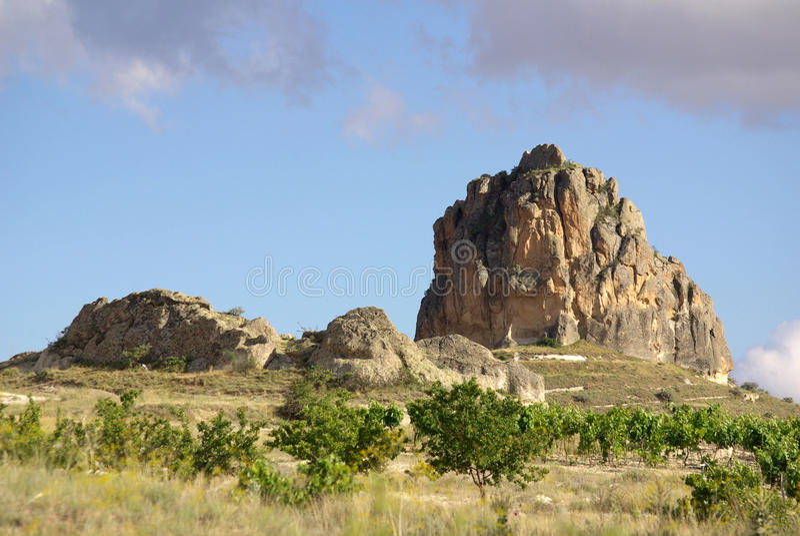 Cappadocia, die Türkei lizenzfreie stockbilder