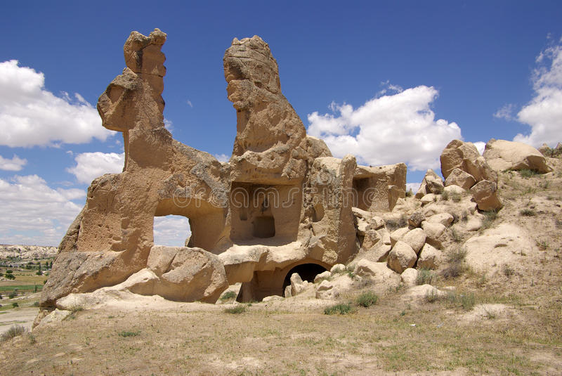 Cappadocia, die Türkei stockbild
