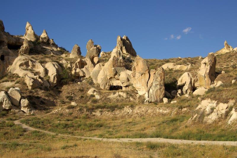 Cappadocia, die Türkei stockbilder