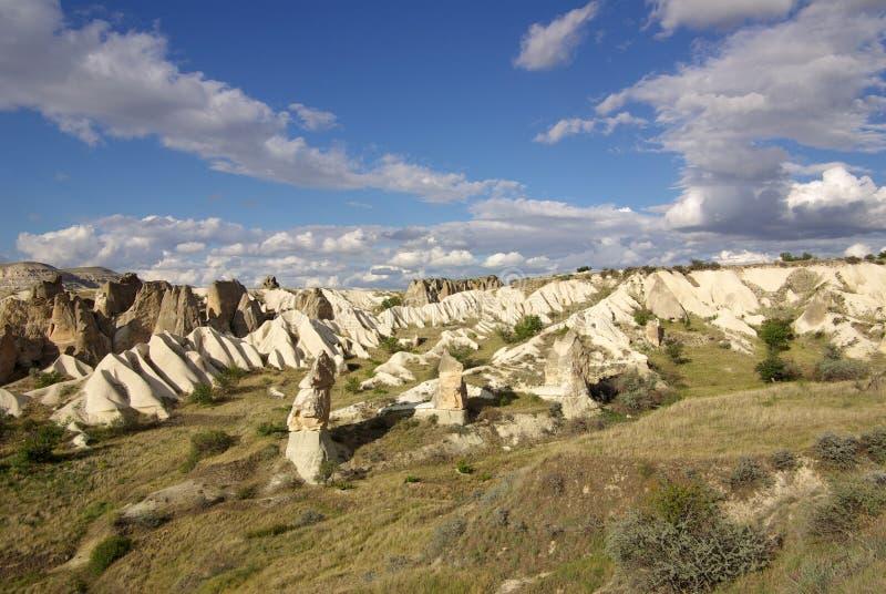 Cappadocia, die Türkei lizenzfreies stockfoto