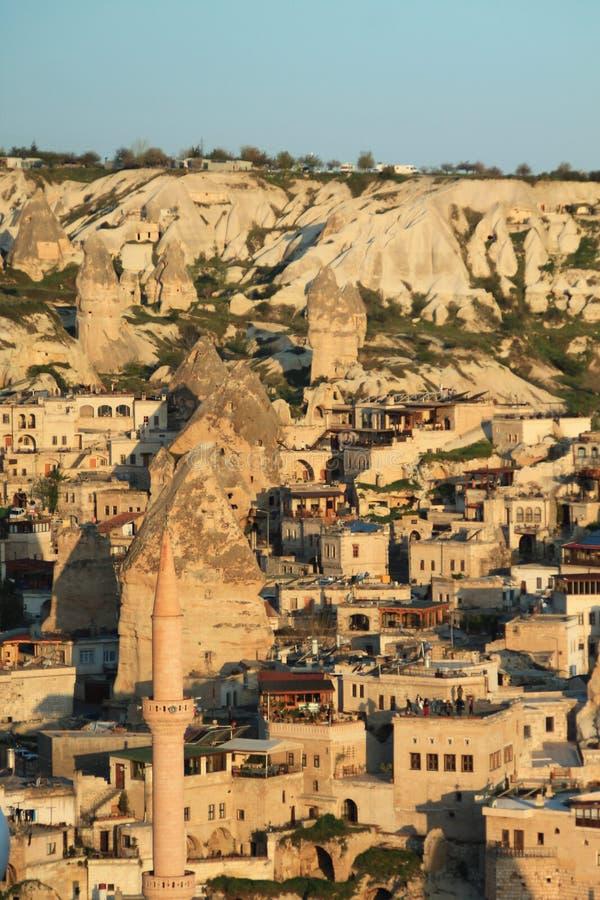 Cappadocia en la salida del sol fotos de archivo libres de regalías