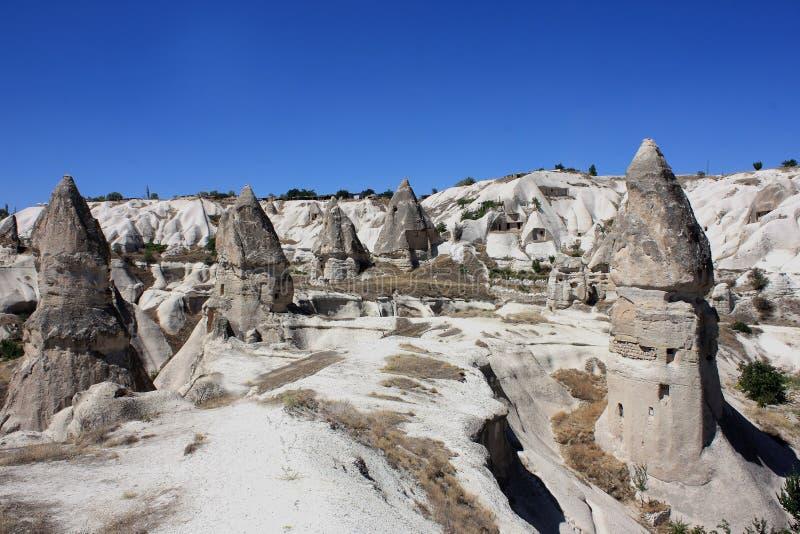 Cappadocia en Turquía fotos de archivo