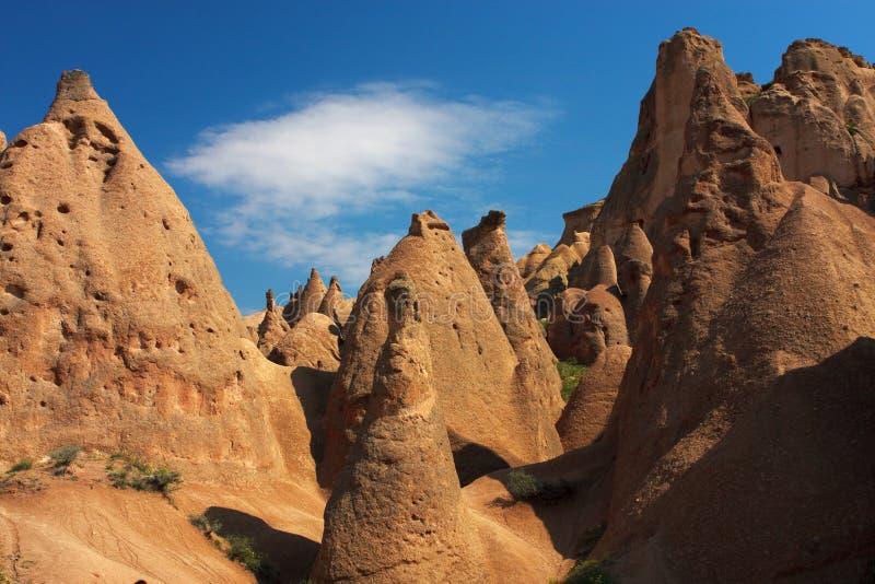 Cappadocia. Fantastische Landschaft lizenzfreie stockfotos