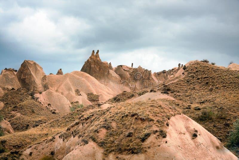 Cappadocia Hills stock photo