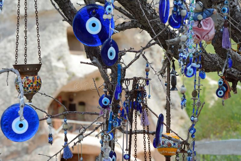 Cappadocia, l'Anatolia, Turchia Museo dell'aria aperta, parco nazionale di Goreme fotografia stock