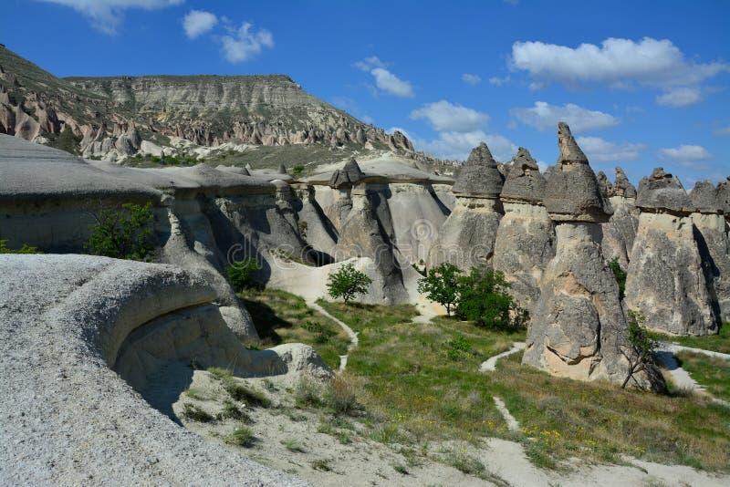 Cappadocia, l'Anatolia, Turchia Museo dell'aria aperta, parco nazionale di Goreme fotografie stock
