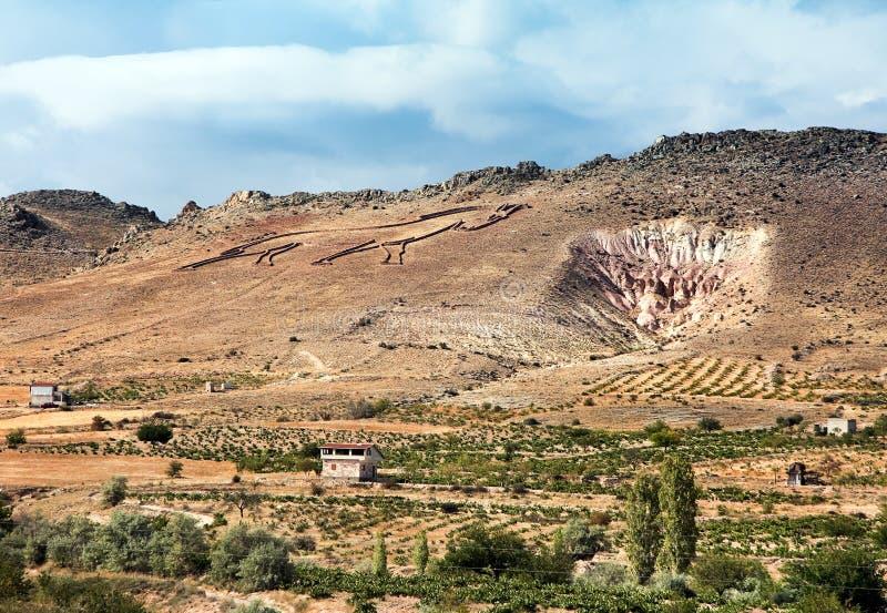 Cappadocia - The Land of Horses stock photo