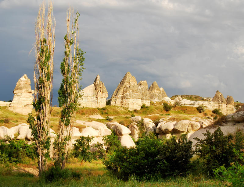 Download Cappadocia Landscape With Fairy Chimneys Stock Photo - Image: 18900208