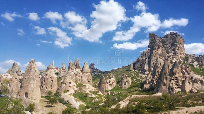 Cappadocia Landschaft lizenzfreies stockbild