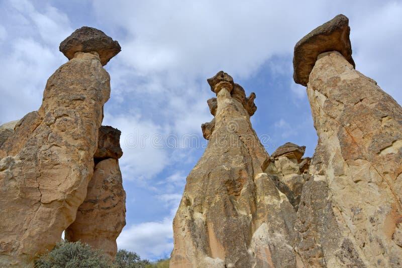 Cappadocia - maravilla de la naturaleza fotos de archivo
