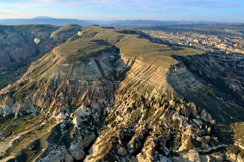 Cappadocia od powietrza zdjęcia stock