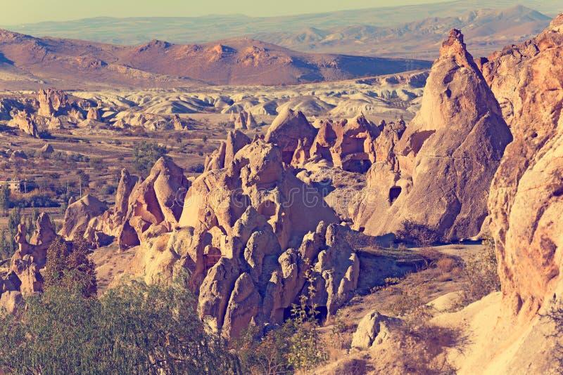 Cappadocia, parco nazionale di Goreme immagine stock libera da diritti