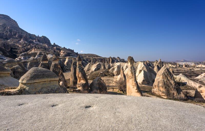 Cappadocia Pasha Bagi. Nevsehir,Turkey royalty free stock images