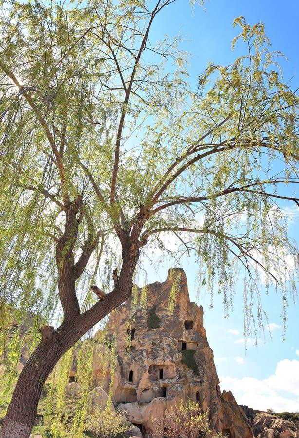 Cappadocia : Roches découpées antiques chez Goreme image libre de droits