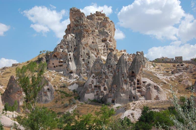 Cappadocia rock formations, Turkey stock image