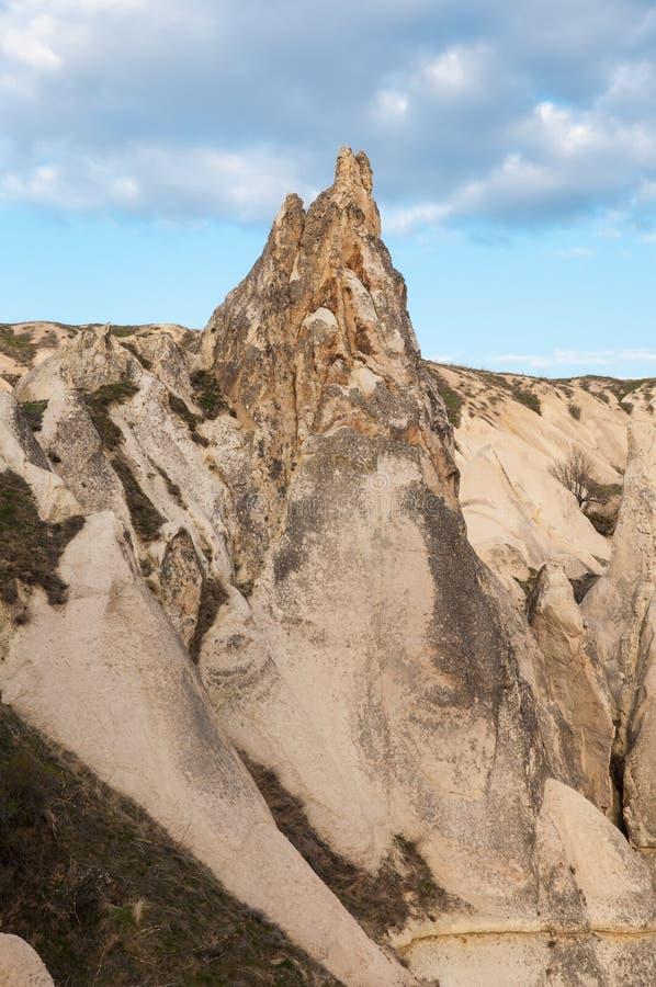 Cappadocia rockowa formacja fotografia royalty free