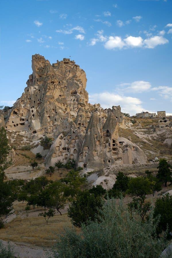 Download Cappadocia Schloss stockfoto. Bild von gebäude, himmel, wolken - 40724