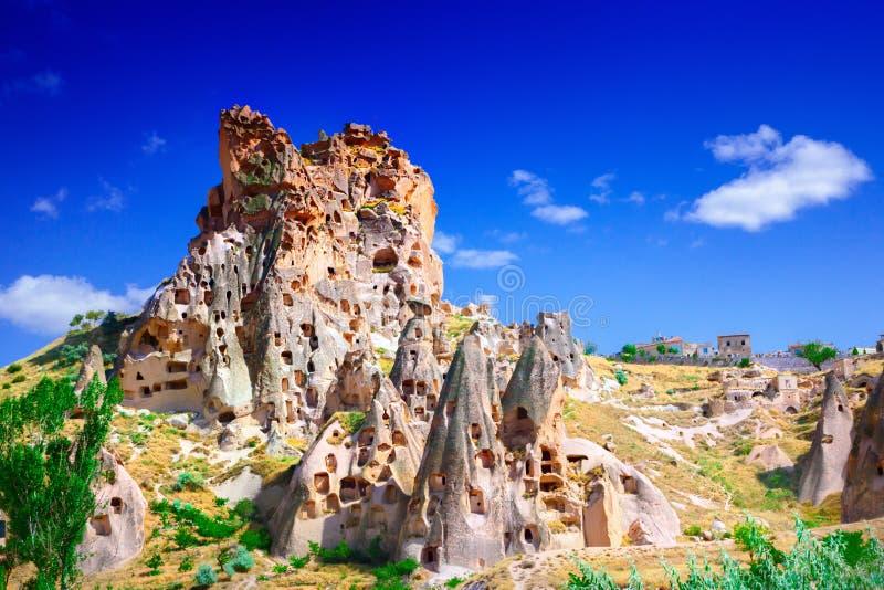 Cappadocia. Stone formation in Cappadocia, Turkey stock image