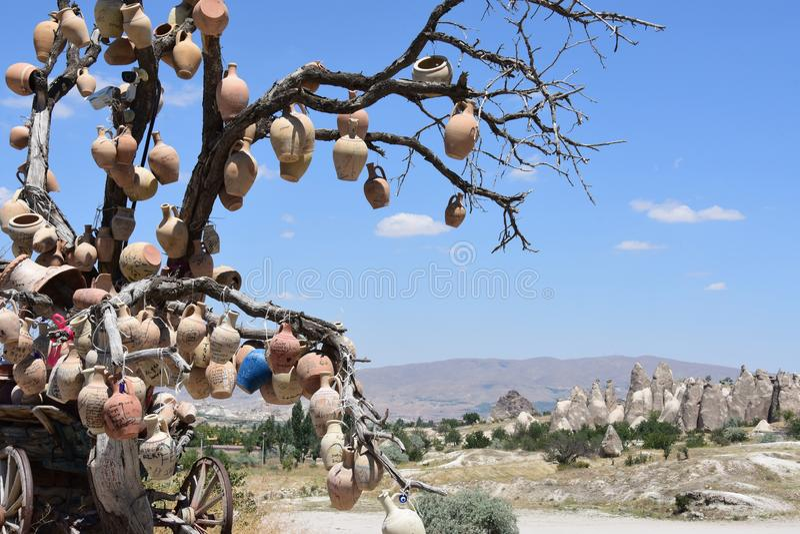 Cappadocia in Turchia immagine stock libera da diritti