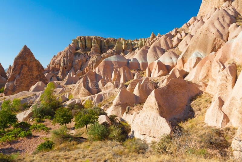 Cappadocia. Turkey Cappadocia rock beautiful ancient stone landscape stock images