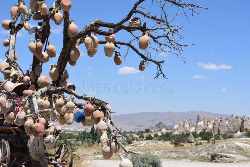 Cappadocia in Turkije royalty-vrije stock afbeelding