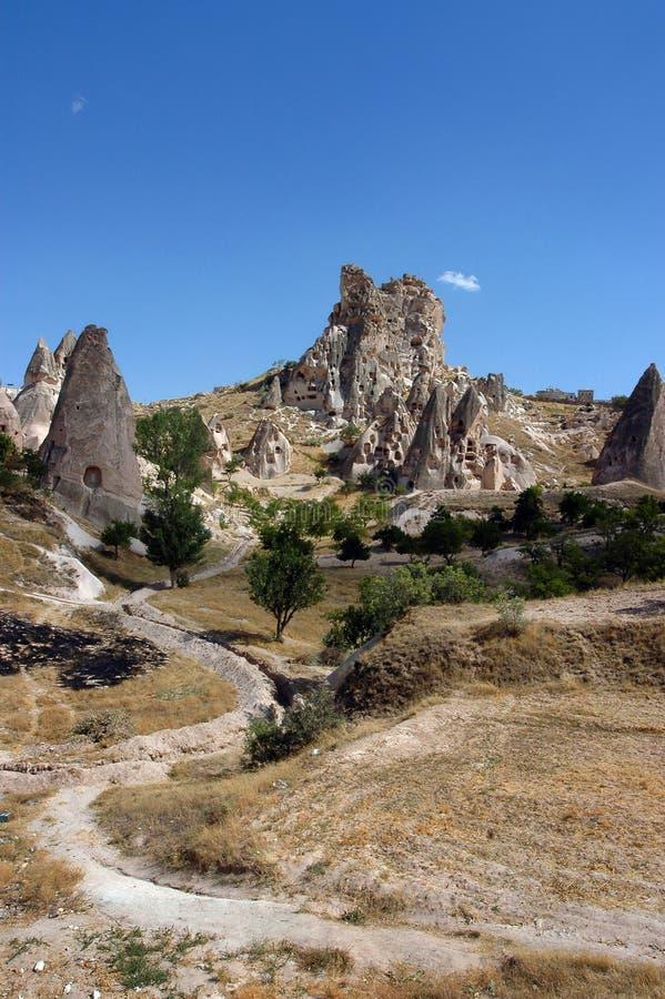 Cappadocia Turkije royalty-vrije stock fotografie