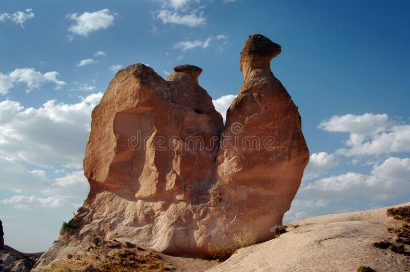 Cappadocia Turkije stock afbeeldingen