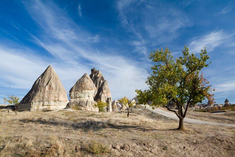 Cappadocia in Turkije royalty-vrije stock fotografie