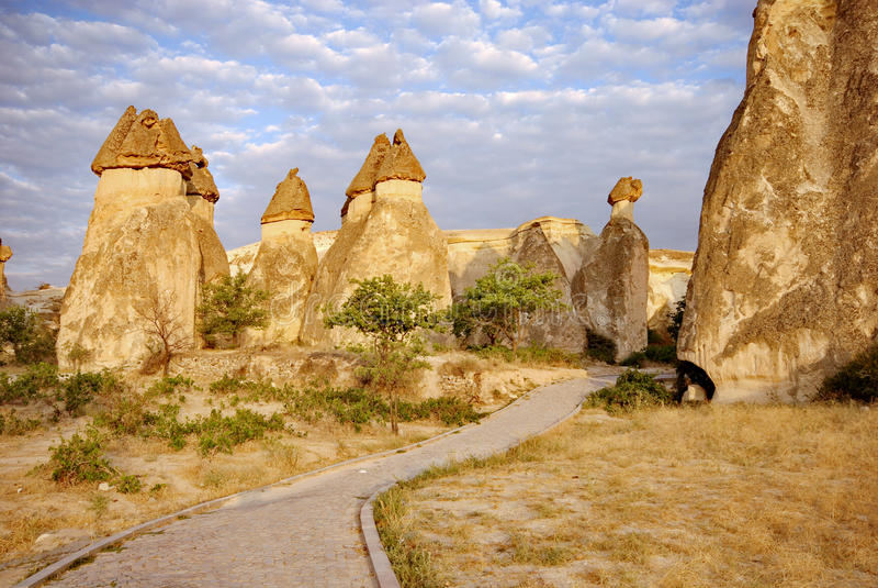 Cappadocia, Turquia imagem de stock royalty free