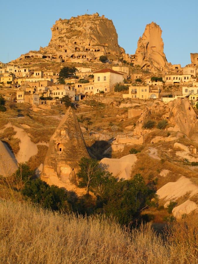 cappadocia uchisar στοκ φωτογραφίες με δικαίωμα ελεύθερης χρήσης