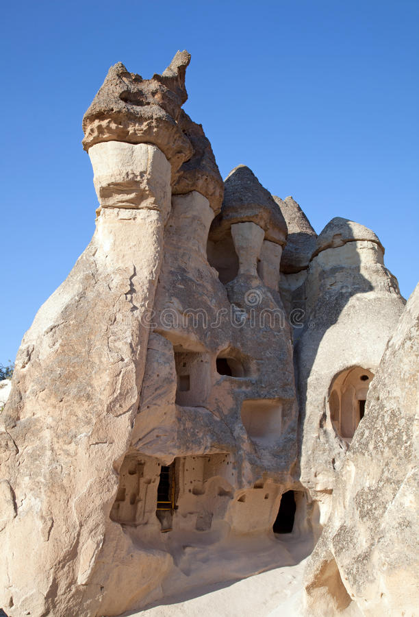 Cappadocia. Valley of friars of Pashabag stock photography