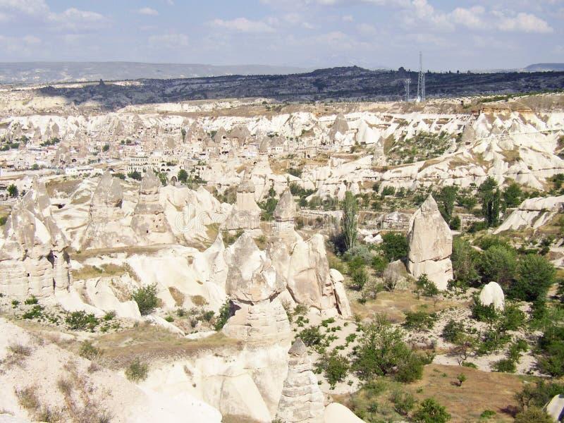 Cappadocia van Goremekapadokya royalty-vrije stock foto