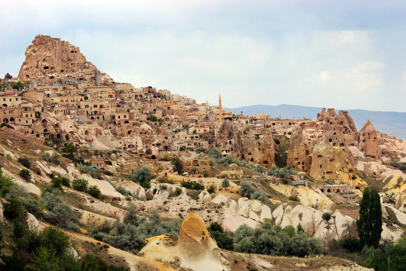 Cappadocia. Which is unique in the world and is a miraculous nature wonder is the common name of the field covered by the provinces of Aksaray, Nevsehir, Nigde stock photos