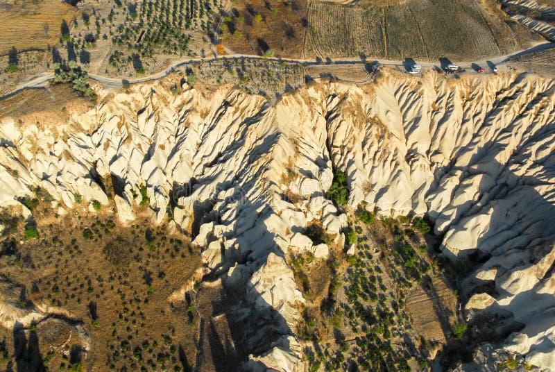 Cappadocia, zentrales Anatolien, die Türkei stockfotografie