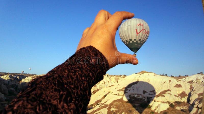 Cappadocialandschap bullon royalty-vrije stock foto